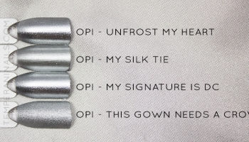 fifty shades of grey mani temperani nails opi fifty shades of grey collection swatches and review